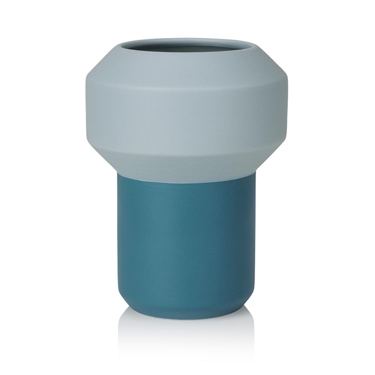 grand vase bleu clair lucie kaas
