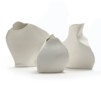solifluer serax blanc porcelaine compo 2