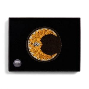 Broche croissant de lune Macon et lesquoy chez Dodé à Nantes 2