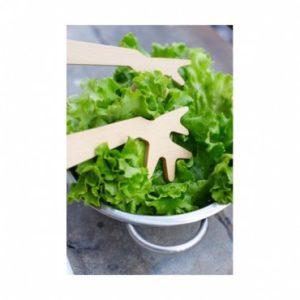 Couverts à salade branches Reine Mère chez Dodé à Nantes