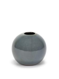 Vase boule M bleu gris Serax by Anita le Grelle chez Dodé à Nantes